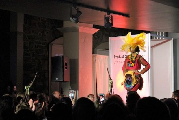 Fashion show. Je t'aime en chocolat. 2016. Marché Bonsecours. Photo Jennifer Guillet