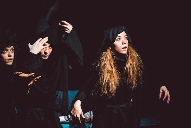 Macbeth. Theatre St Catherine. Raise the Stakes Theatre. Photo by Jean-Michel Seminaro.