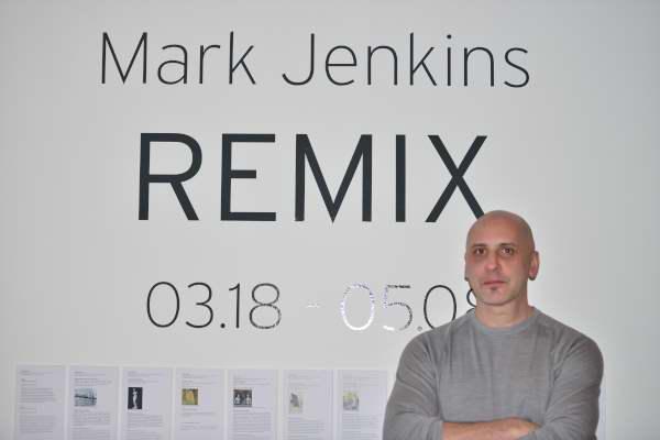 Mark Jenkins Remix. 2016. Arsenal Gallery. Photo Marlene Wilson.