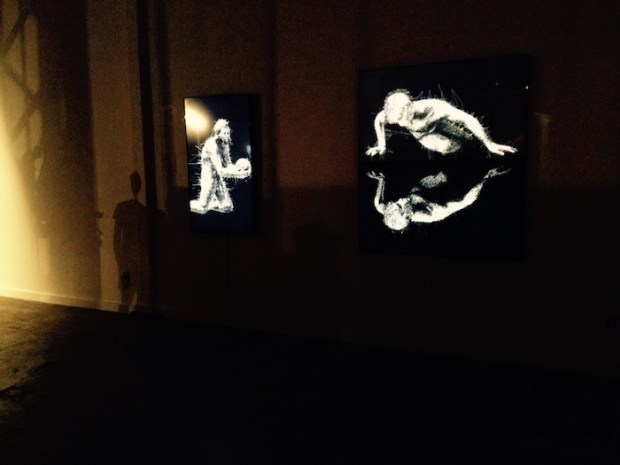 Pascal Haudressy. Elektra Festival. Arsenal. Photo Angela Potvin