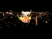 A Magikarp Over Montreal. Pokémon Go. Montreal Mt. Royal. Photo Sarah Luger.