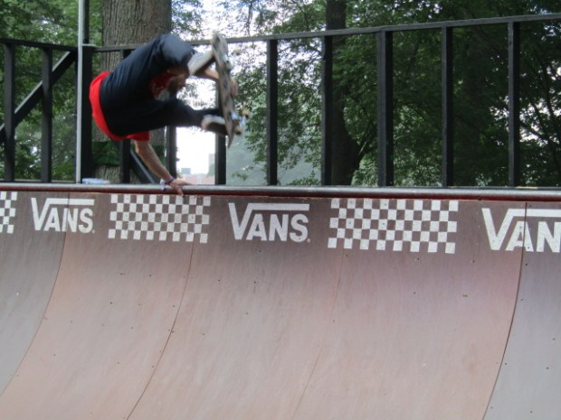 Osheaga Skateboard. Photo Rachel Levine