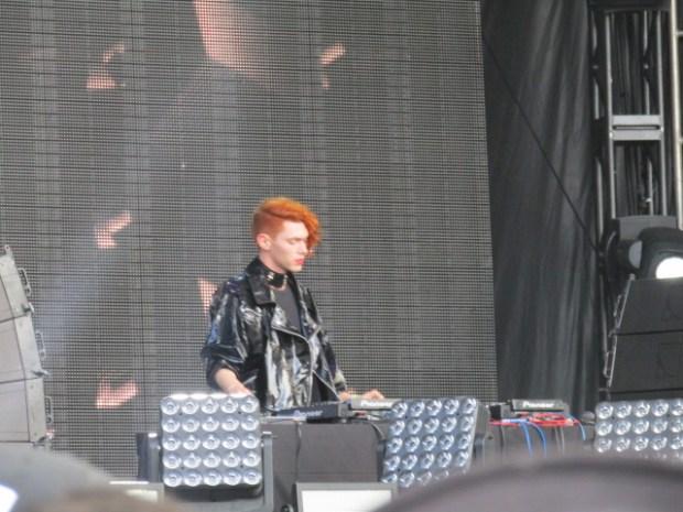 Sophie. PIknic Electronik Stage. Osheaga. Photo Rachel Levine