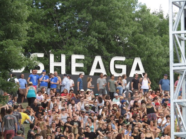Osheaga Crowd. Photo Rachel Levine