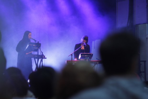 Atmosph'Air Festival. Plaza St Hubert. Photo Jean-Marc M'Bahia