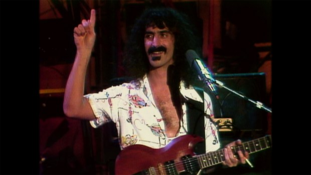 Frank Zappa @ Zappa Family Trust, Courtesy of Sony Pictures Classics.