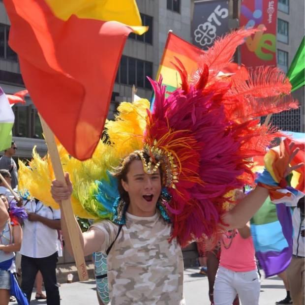 Pride Parade Montreal 2017. Photo Angelique Koumouzelis