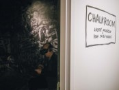 Chalk Room. Phi Centre. Particles of Existence.