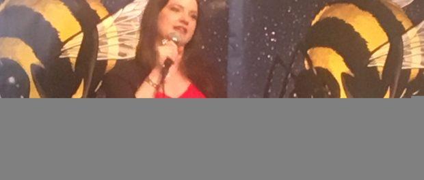 Amy Blackmore. Fringe Press Conference. Photo Rachel LEvine