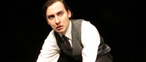 Kafka's Metamorphosis. Alex LeBlonde as Gregor Samsa. Photo Karel Blake