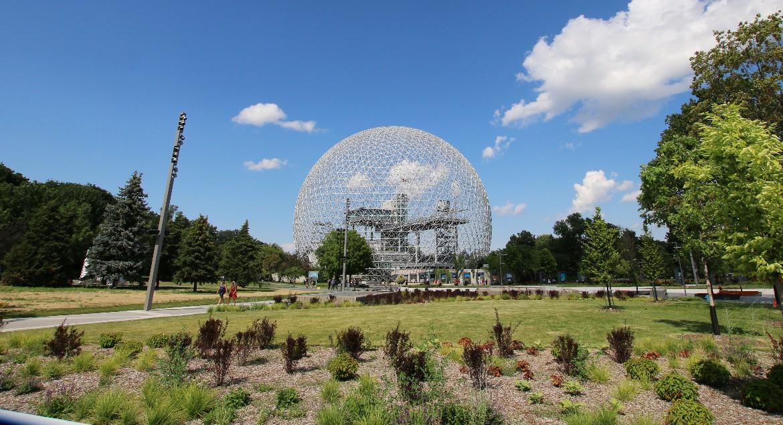 Biosphere at Jean Drapeau Park