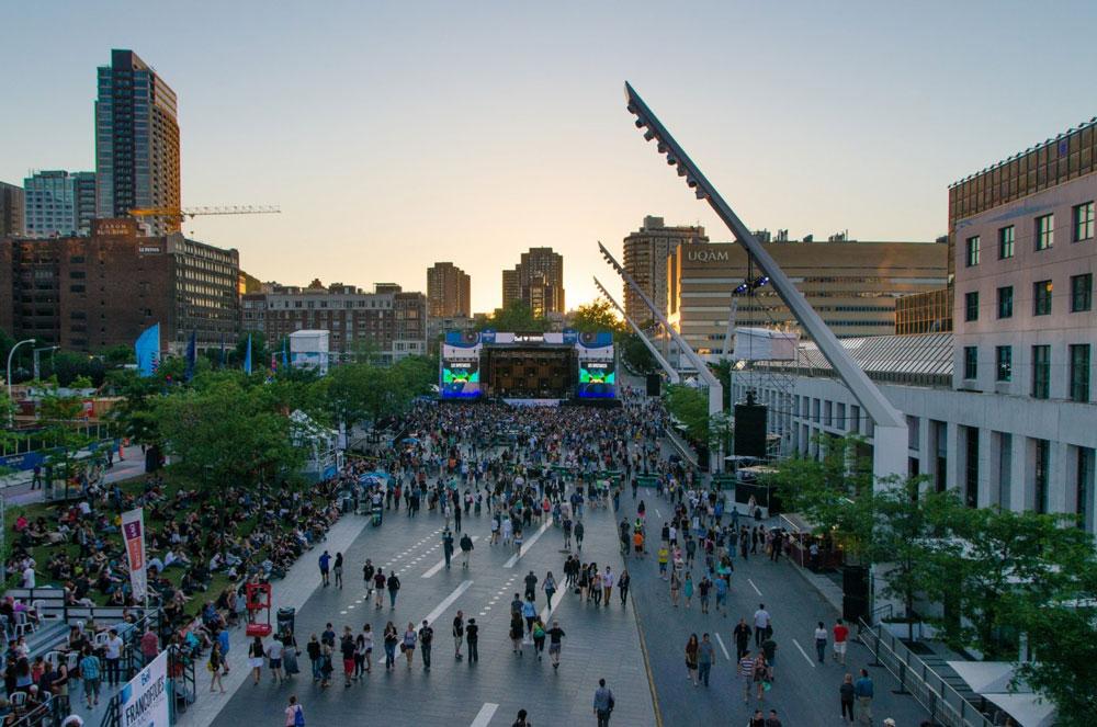 Place Des Festivals Montreal Travel Guide