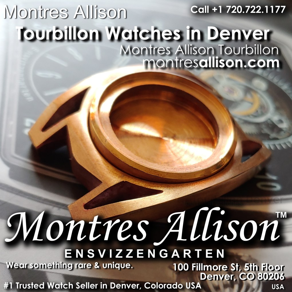 Montres Allison watch case