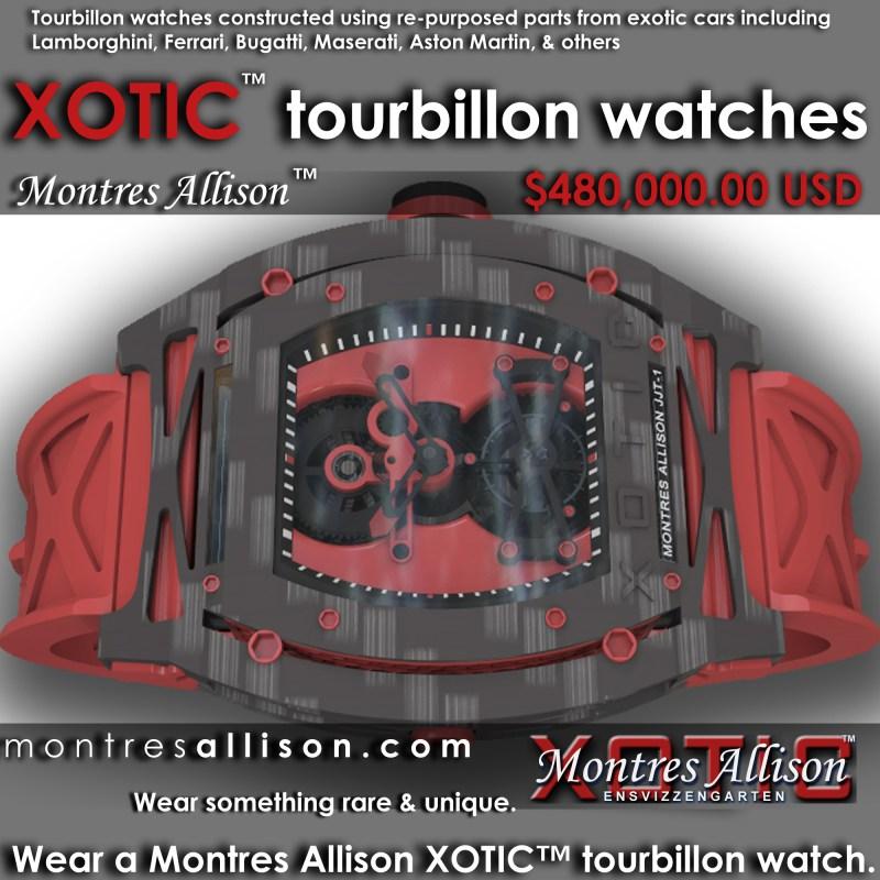 Xotic Tourbillon