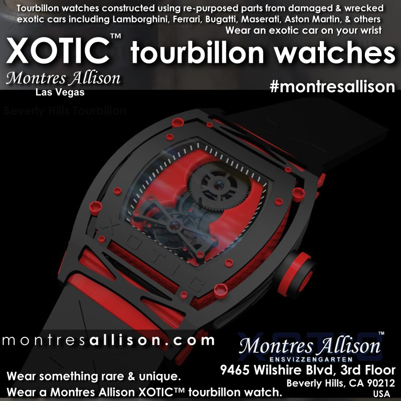 XOTIC tourbillon watches