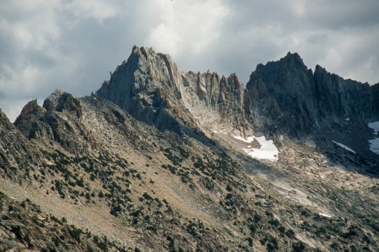 View of Sawtooth Ridge from Mule Pass