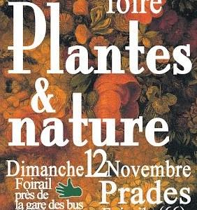 Foire Plantes et Nature Prades 2017