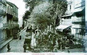 Lezignan Corbieres's new market place