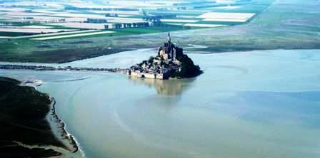 Le Mont-Saint-Michel ensablement