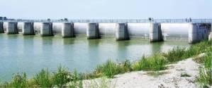Nouveau barrage fermé