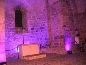 Eclairage en nocturne abbaye du Mont-Saint-Michel
