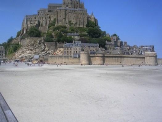 nouvelle vue des remparts du Mont-Saint-Michel