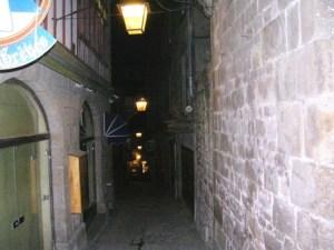 Eclairage des Rues Mont-saint-Michel