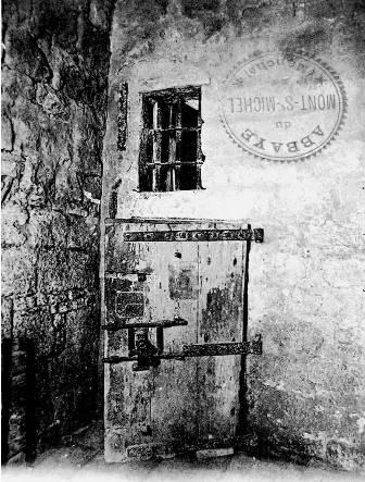Un cachot du Mont-Saint-Michel