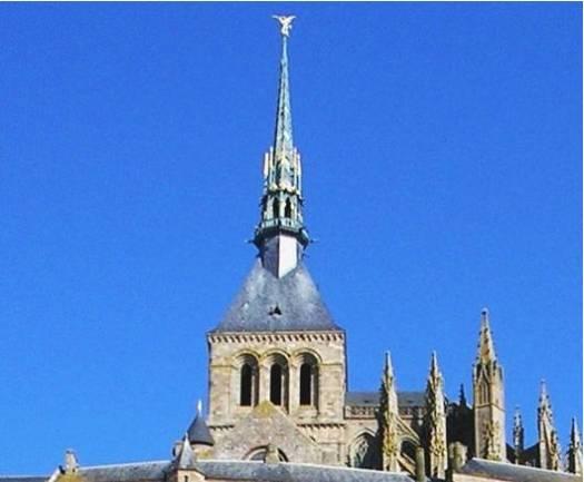 La Flèche du Mont-Saint-Michel