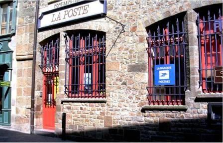 La Poste du Mont-Saint-Michel
