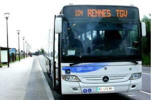 Ligne TGV par rennes