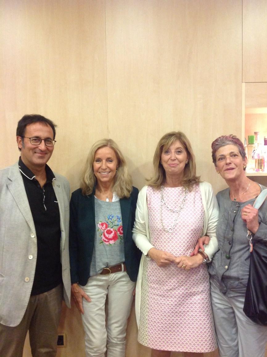 Xavier Graset, Montse Batlle, Irene Rigau i Rosa Pous