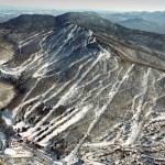 Mont SUTTON vue aérienne