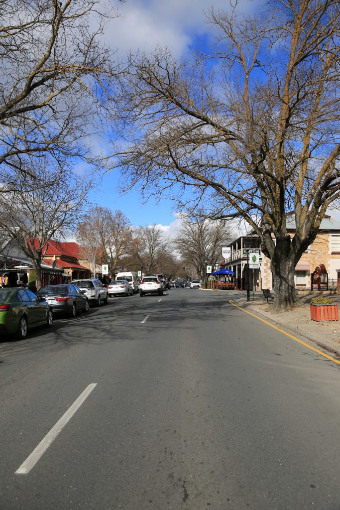 Main Street in Hahndorf - Adelaide Hills