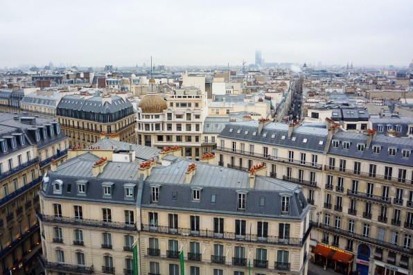 View from La Terrasse_Galeries Lafayette