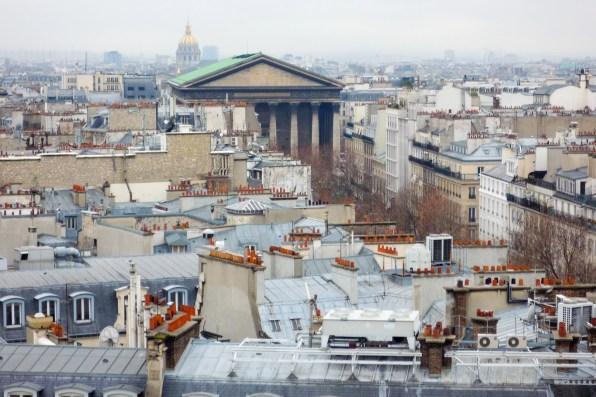 View from La Terrasse_Galleries Lafayette_2