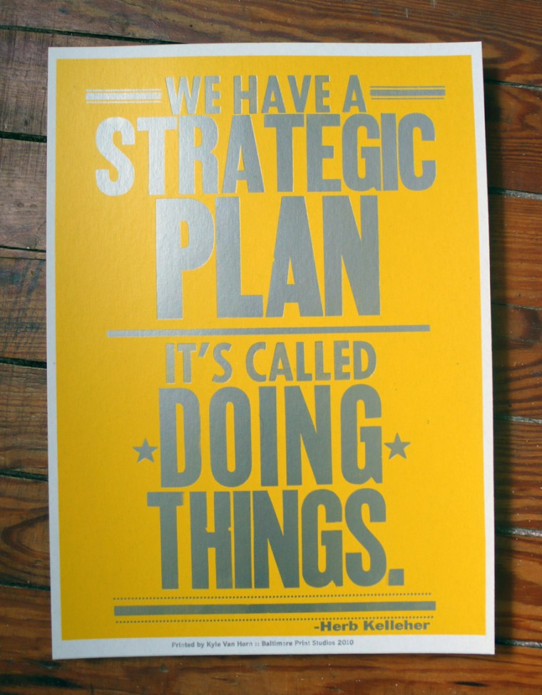 Strategic Plan :-)