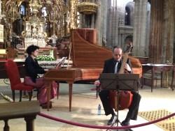 Patricia Rejas e Baldomero Barciela