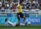 Argentina v Paraguay Atenas 2004 albirroja de Plata - copia