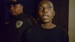 La Policía apresa haitiano implicado en hechos delictivos en Tamboril