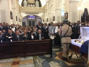Danilo Medina asiste a misa por Monchy Rodríguez