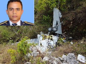 Elías Piña: Muere piloto al caer avión FAD