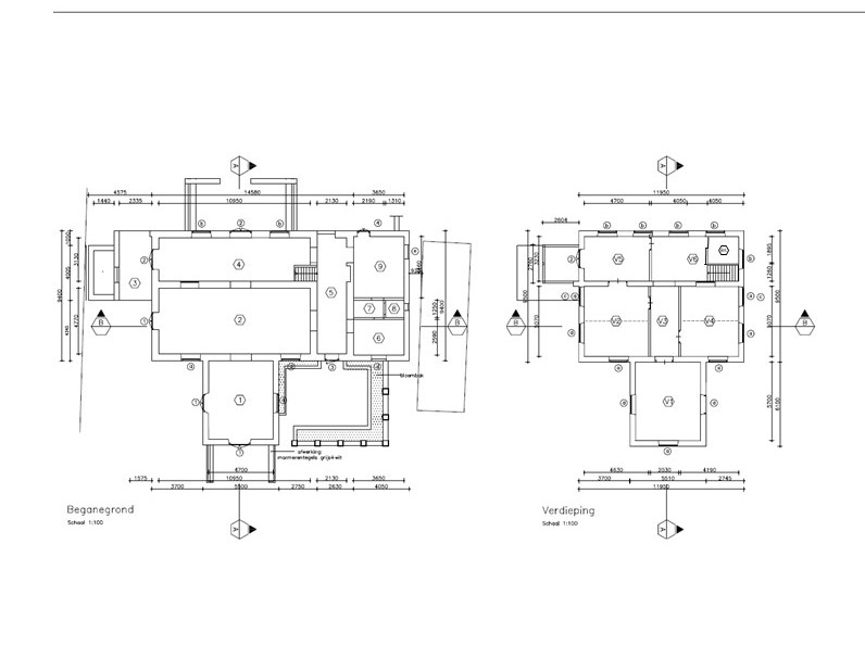 Floor Plan Scharlooweg 68