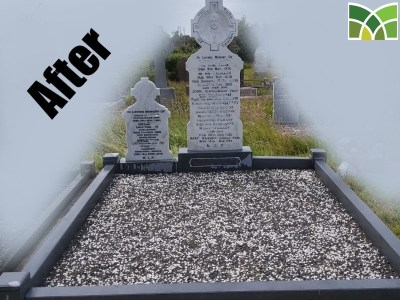 After Grave Restoration Service - Moloney Monuments - Limerick