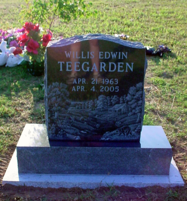 Etchings On Headstones In Mountain Home Arkansas