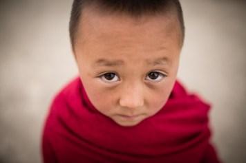 Jeune moine ladakh
