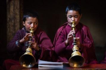 Prière tibétaine