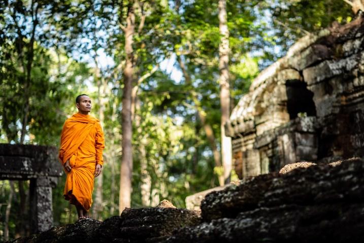 Temples d'Angkor vide