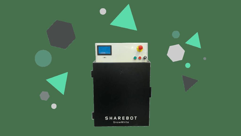 Stampanti 3D professionali Sharebot Monza Sharebot SnowWhite stampante 3D
