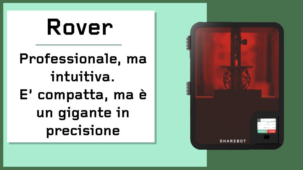 Prodotti Sharebot Monza stampante 3d Sharebot Rover